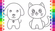 兒童簡筆畫教程:繪畫的凱蒂貓居然變成真實的玩偶,好可愛啊!