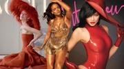 Rihanna闪亮肤色吸睛满分