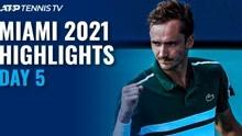 ATP迈阿密大师赛第五日
